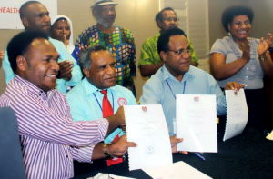 Health Partnership agreement signed